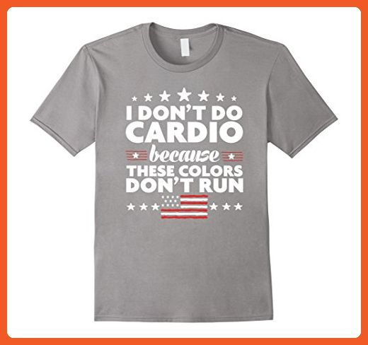 68f33bd793 Mens Funny 4th of July Shirts-I Don't Do Cardio for Men or Women XL Slate - Workout  shirts (*Partner-Link)