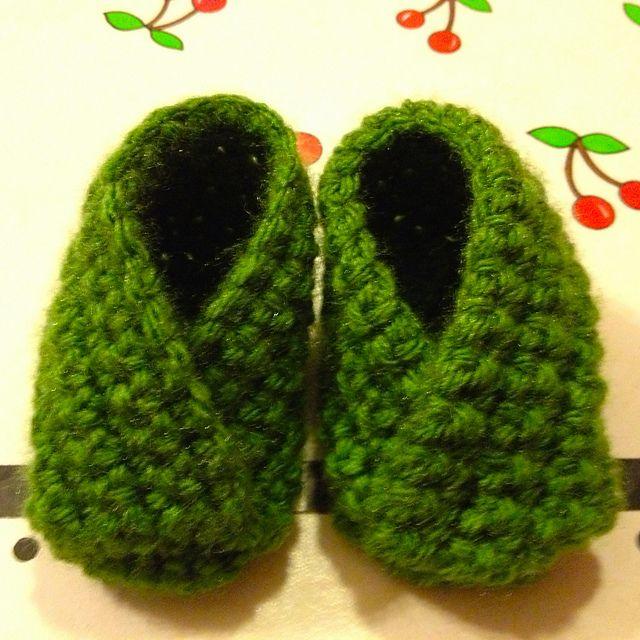 Super Simple Crossover Crochet Bootie: free E-Z pattern | Crochet ...