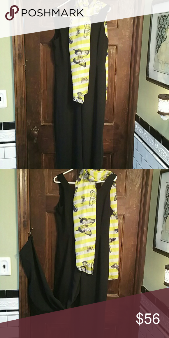 JONES NY JUMPSUIT. SOPHISTICATED! EUC Blk. Sleeveless scoop neck. Terrific Wide Leg. Takes You From Day to Night. Pants Jumpsuits & Rompers