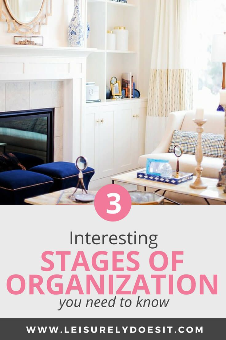 Organizing Your Home: 3 Interesting Stages of Organization | Home ...