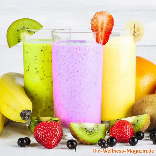 Photo of Summer berry smoothie – healthy slimming recipe