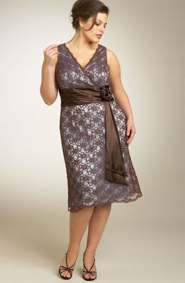 Imagenes de vestidos para senoras gordas