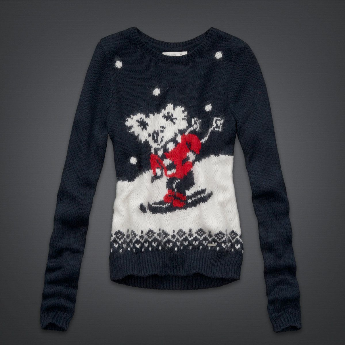 hollister christmas sweater