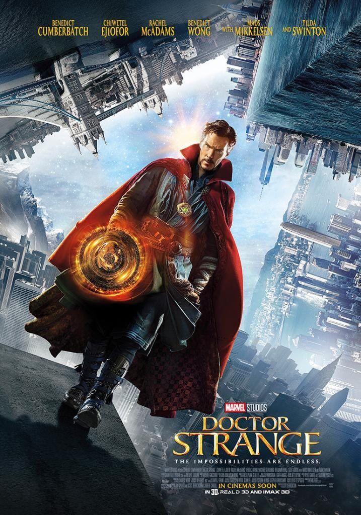 #Doctor #Strange #Fan #Art. (Doctor Strange Movie Poster) By: Marvel. ÅWESOMENESS!!!™ ÅÅÅ+