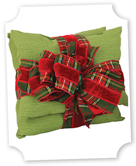 Diy Decorative Christmas Pillows : DIY Christmas Decorative Pillow Offray.com Christmas Decorating Pinterest Pillows and ...
