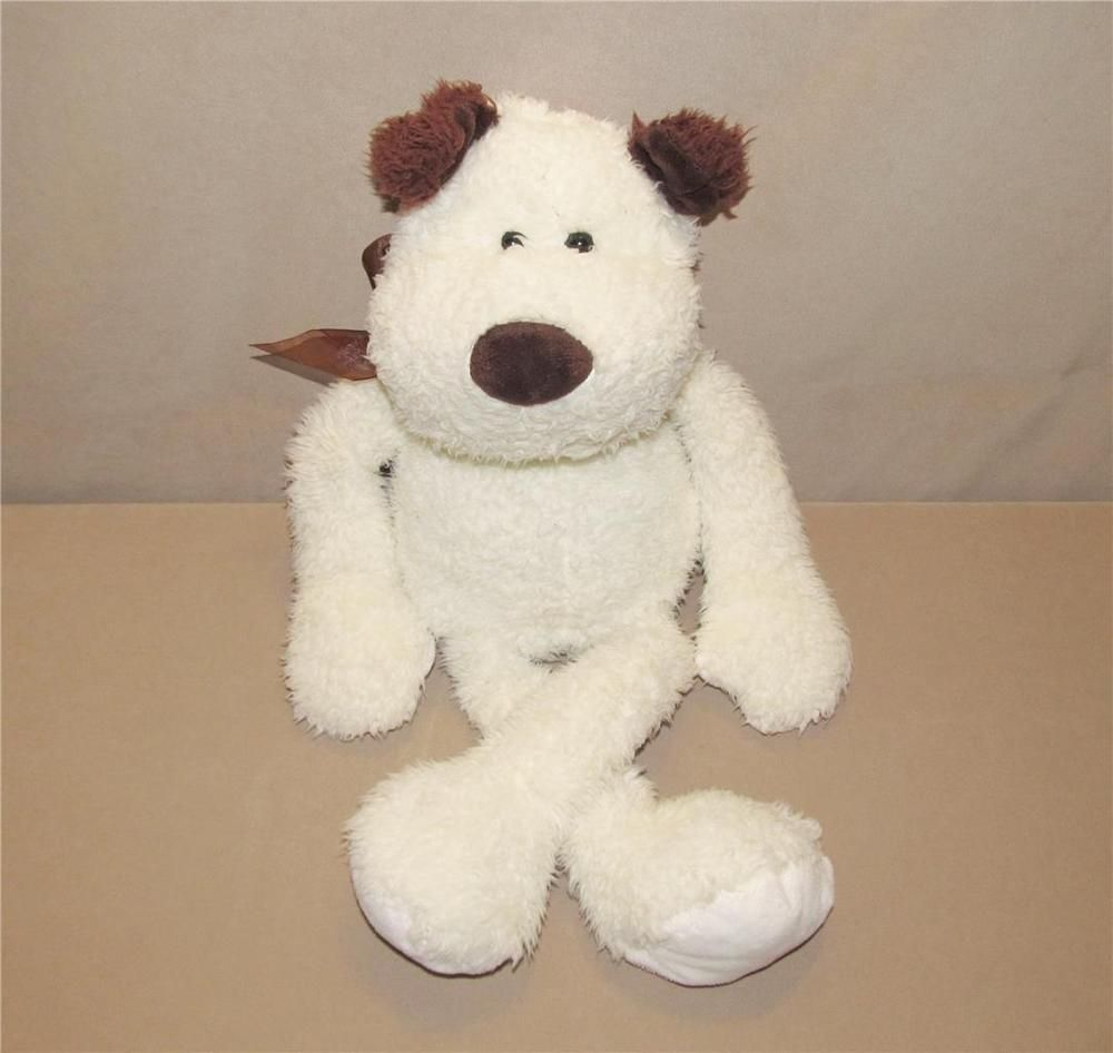 Goffa Cream Brown Puppy Dog Plush Stuffed Animal 22 Toy Long Arms