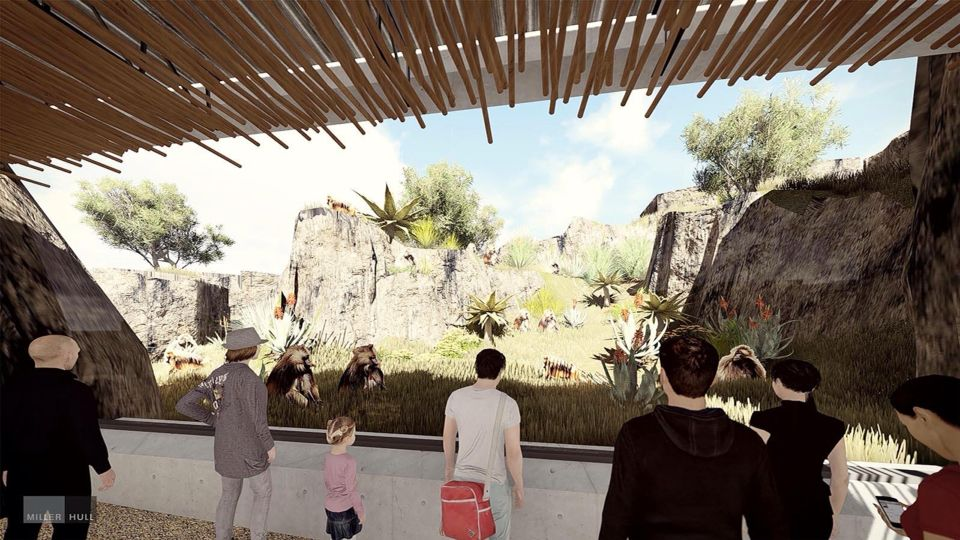 San Diego Zoo Africa Rocks Baboon Exhibit By Elm Environments