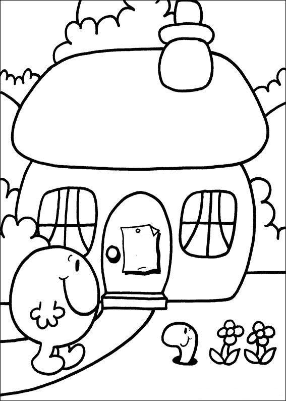 Worksheet. coloring page Mr Men and Litltle Miss KidsnFun  Dessins