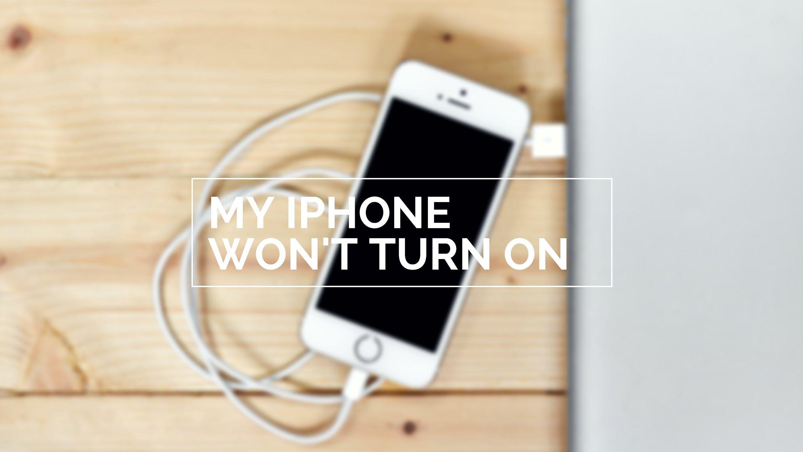 c0d72ba4b27af3 My iPhone Won't Turn On. Here's The Real Fix!   phones   Iphone ...