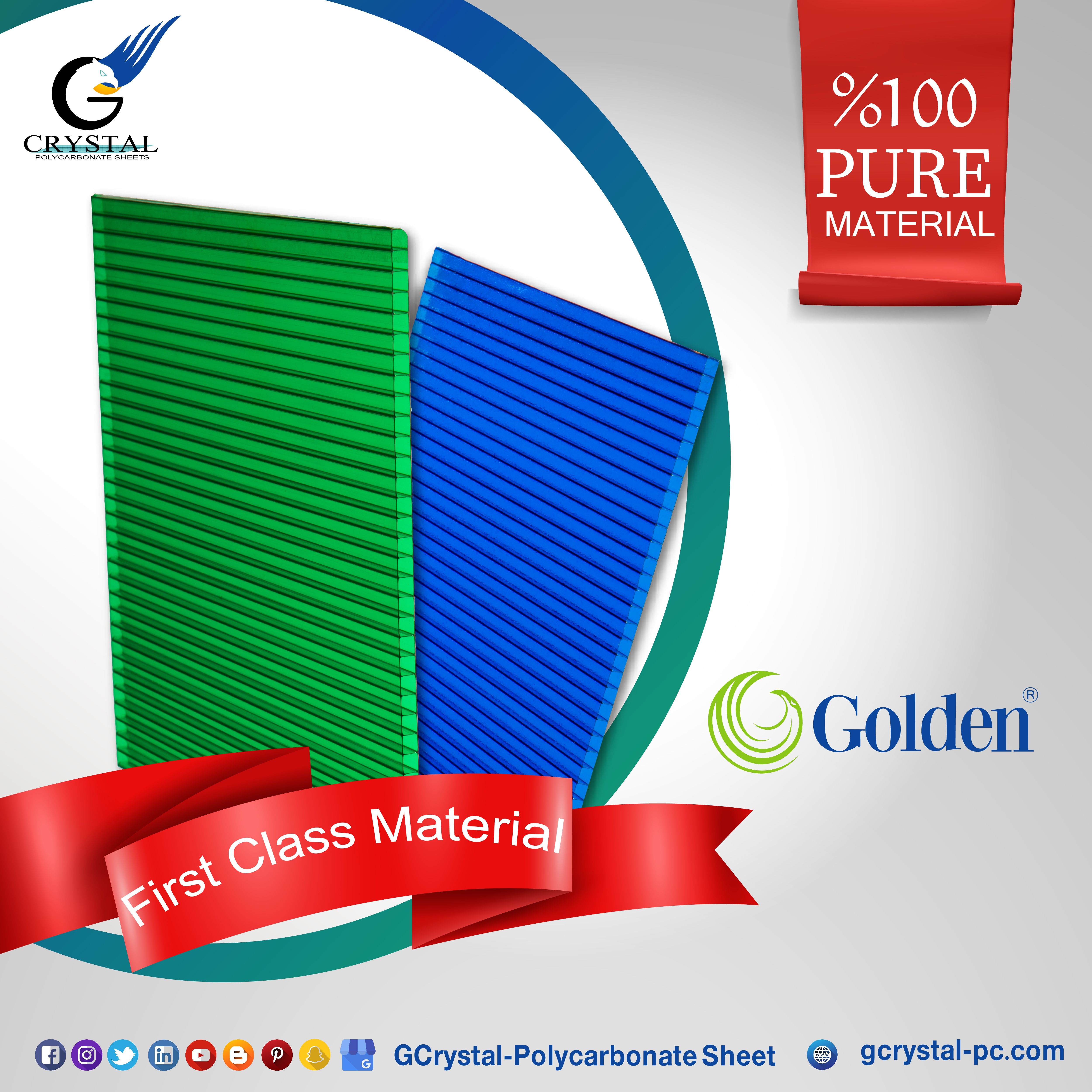 Use Of First Grade Raw Materials Raw Materials Polycarbonate Material
