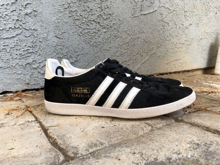 capacidad Altitud salir  Men's Adidas Gazelle OG Black Sz 9 (US) 8.5 (UK) 9/10 condition Imported  from UK | Adidas gazelle, Adidas shoes, Sneakers