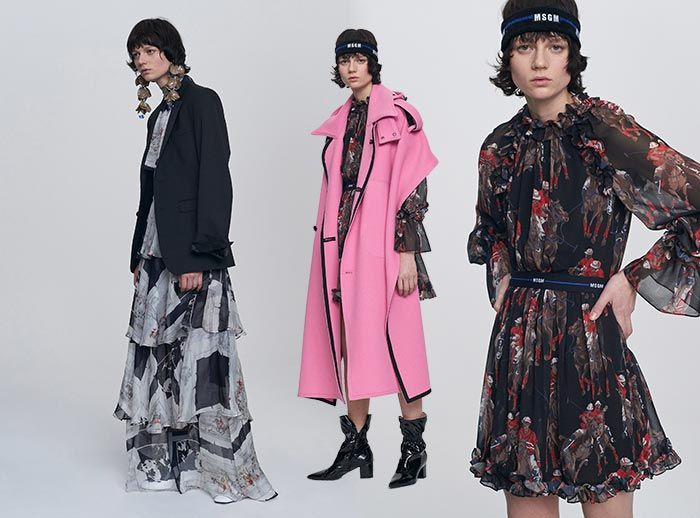 MSGM Pre-Fall 2017 Collection