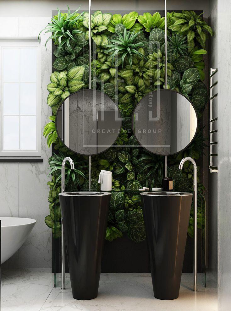 19 Effective Vertical Garden ideas in 2020 | Bathroom ...