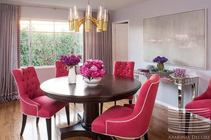 Pink Dining Room Chairs Rosa Esszimmer Esszimmerstuhle