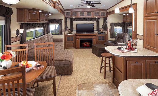 Luxury rvs luxury rv 39 s pinterest luxury and luxury rv - Infinity fifth wheel front living room ...