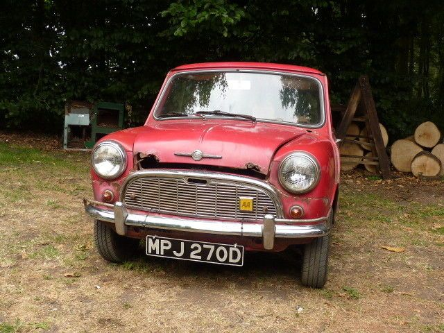 Ebay Mk1 Morris Mini Minor Auto Restoration Projectvery Rare
