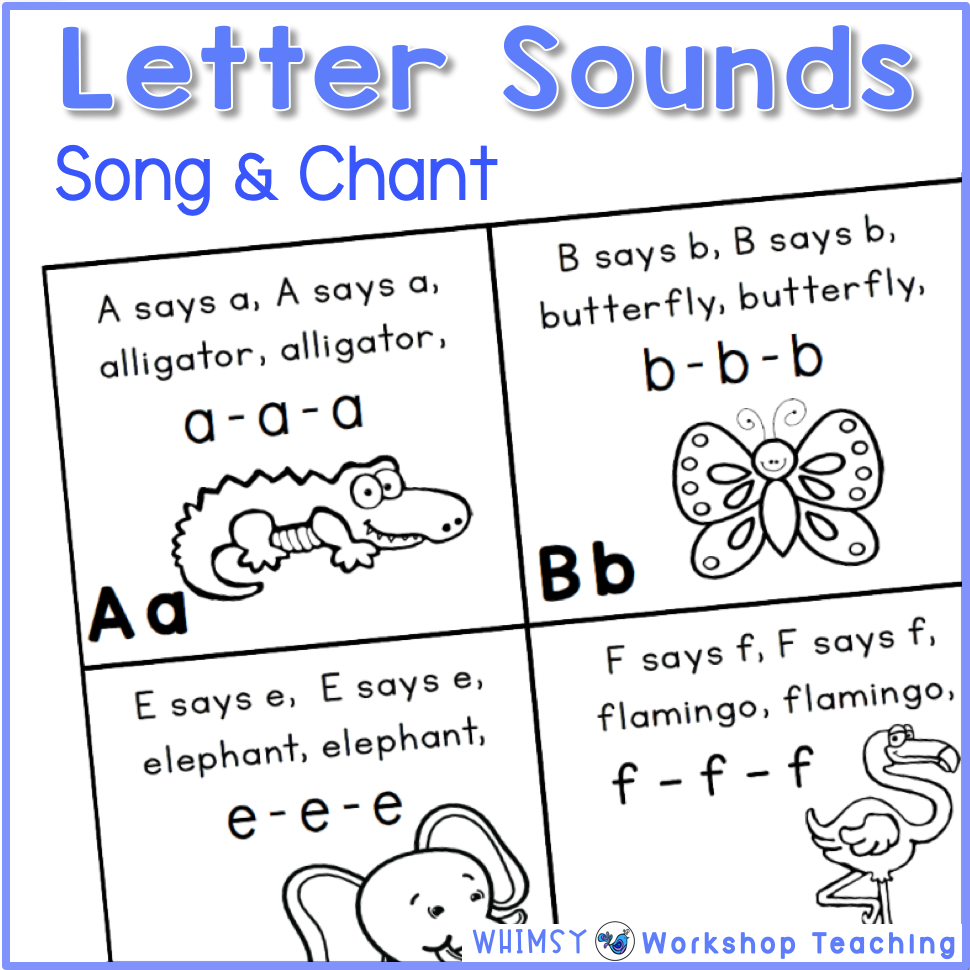Tips for Teaching Letter Sounds (With images) Phonics