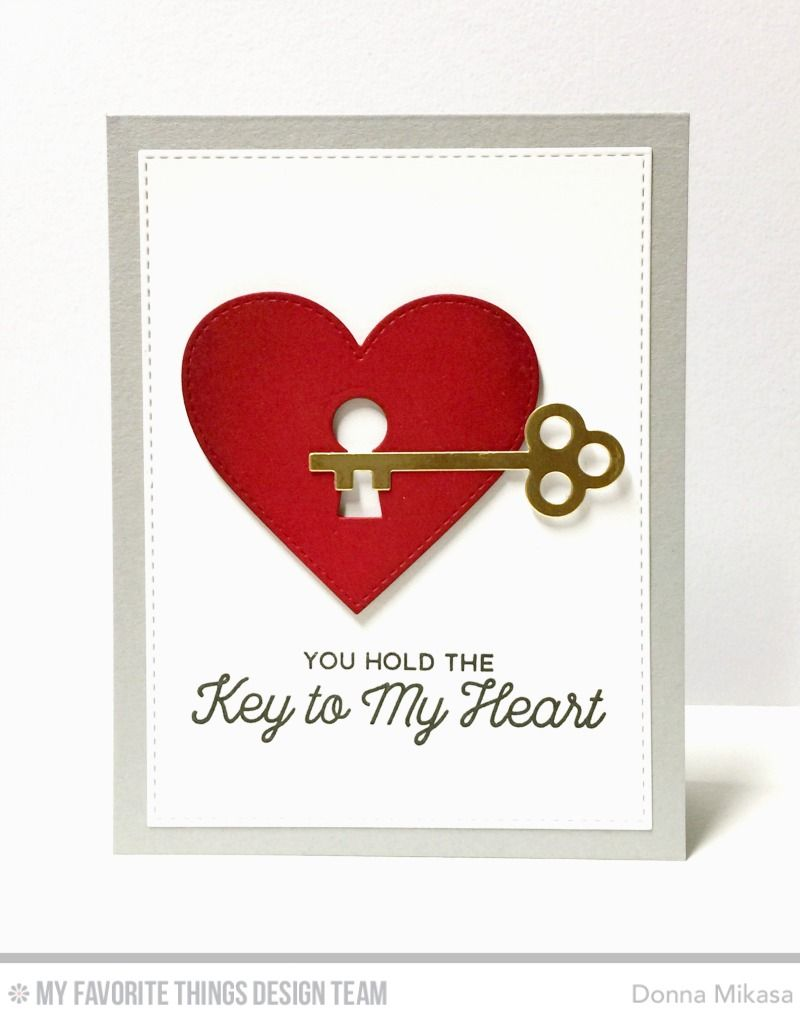 Today I M Sharing Another Project With The No Place Like Home Card Kit Besides The House D Valentine Cards Handmade Valentine Day Cards Easy Valentine Cards