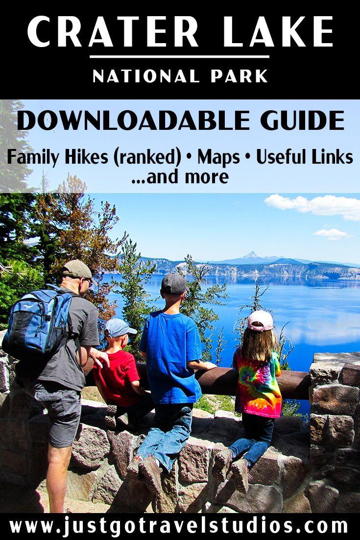 Crater Lake National Park Itinerary #craterlakenationalpark
