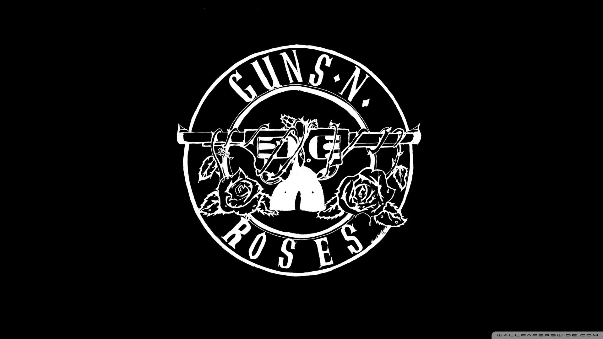 Guns N Roses Logo Wallpaper Wallpapertag