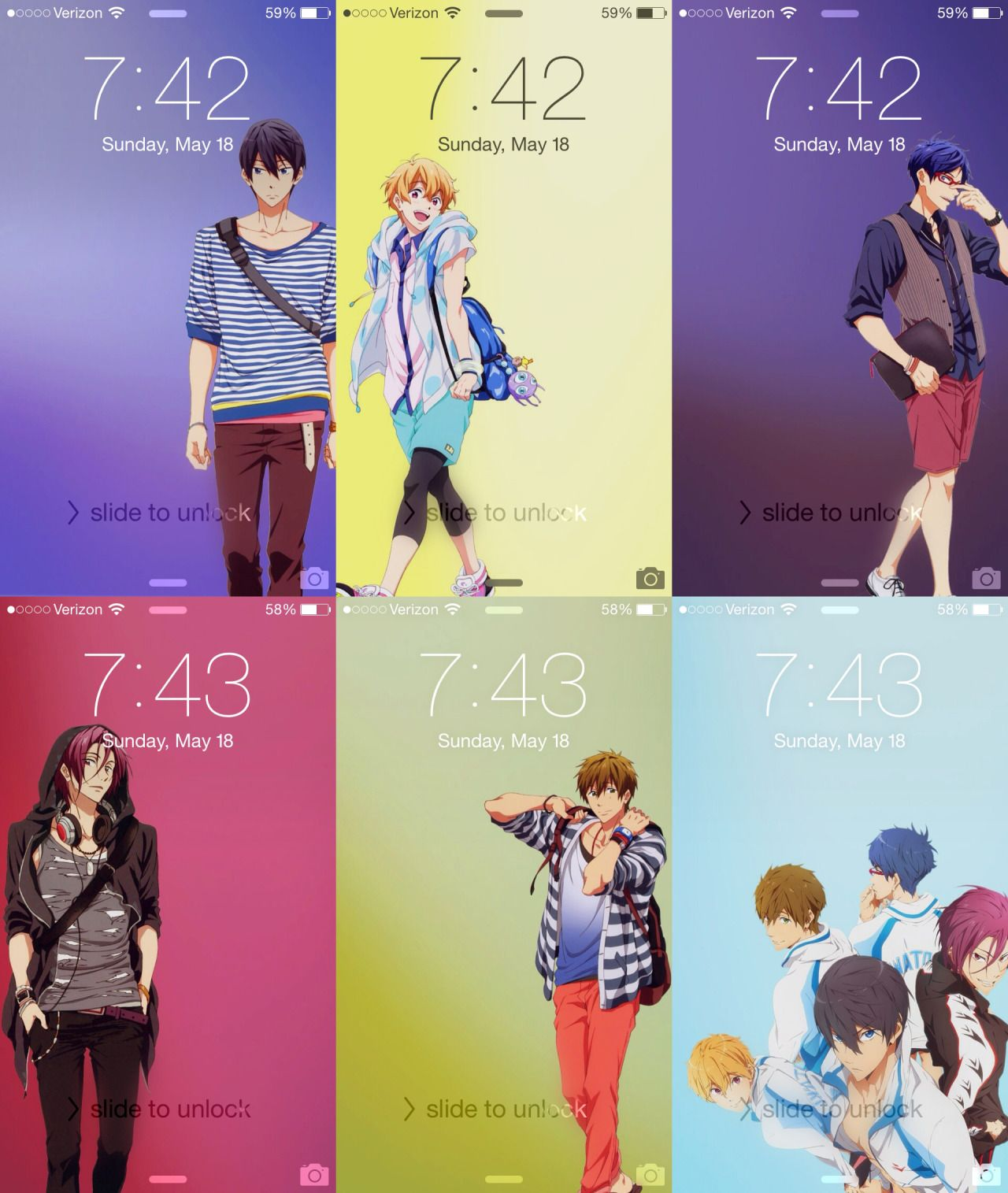 iPhone 5 Backgrounds more anime background