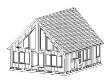 $100k for a 2 bedroom log cabin (modular)