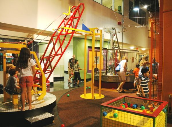The Ball Machine at the Imagine It! The Childrens Museum of Atlanta  Ch...