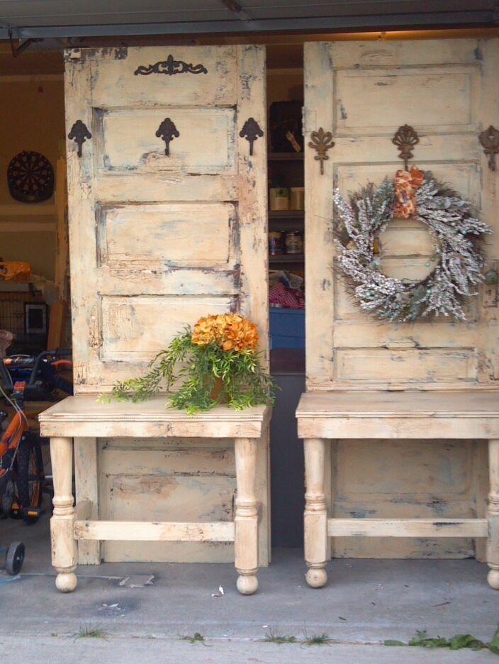 Reutilizar Ventanas Viejas Madera De Decoraciones