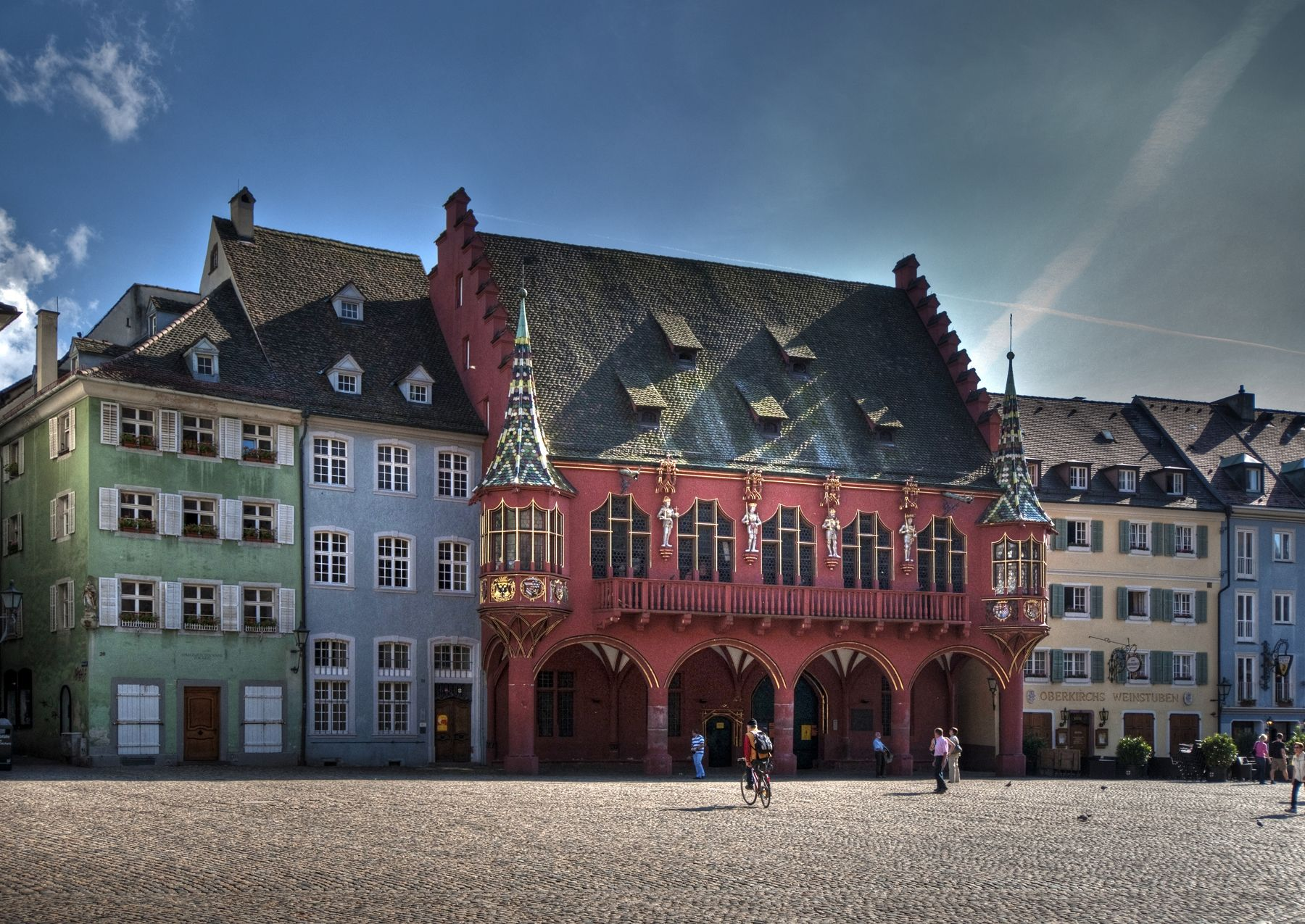 Freiburg, das historische Kaufhaus // The Historical Merchants Hall of 1520-21 ¦ pilago