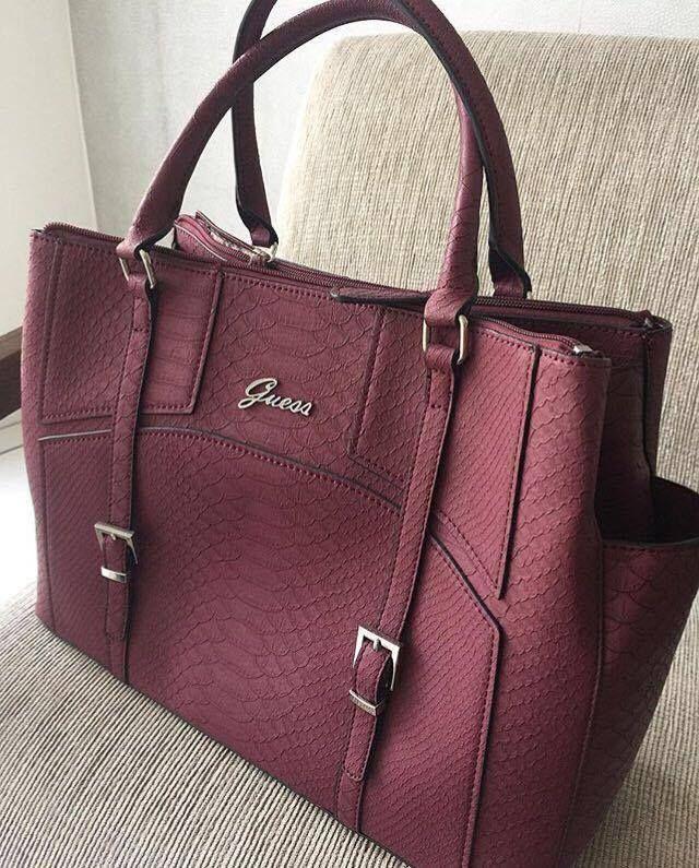 9a9db1a4ef2 Bolsa Guess Marsalha Nova Original | Handbags | Bags, Guess purses ...