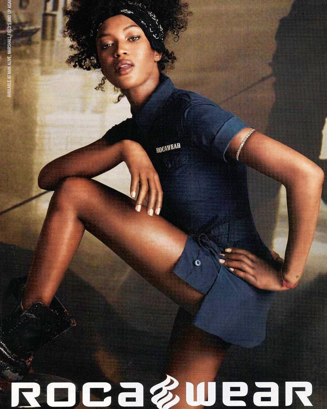 Naomi Campbell for RocaWear✨ (With images) | Naomi campbell