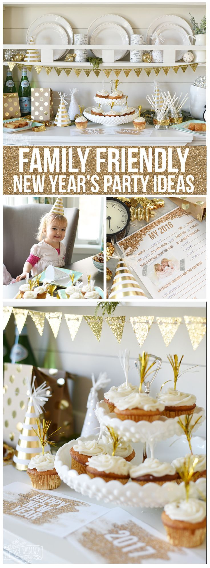 Family Friendly New Years Party Ideas | New years eve ...