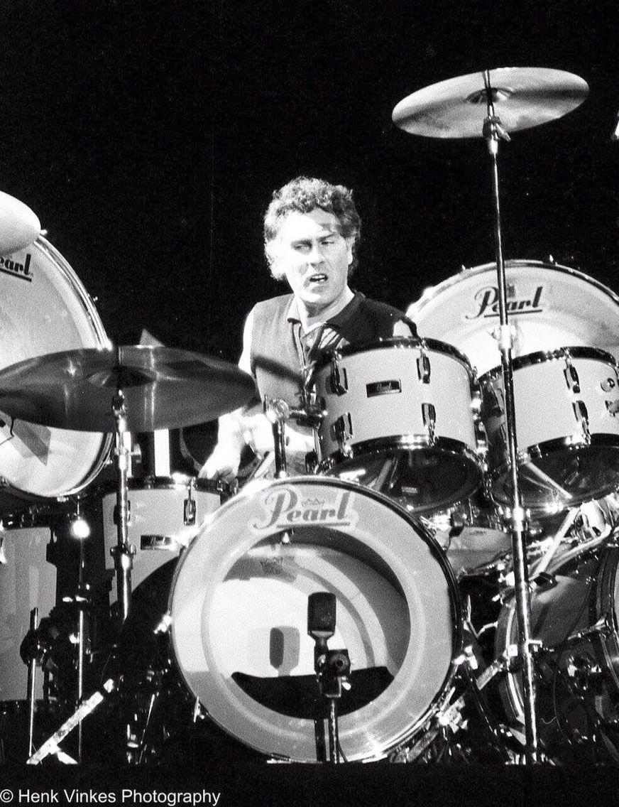 Cesar Zuiderwijk, Dutch drummer of Golden Earring