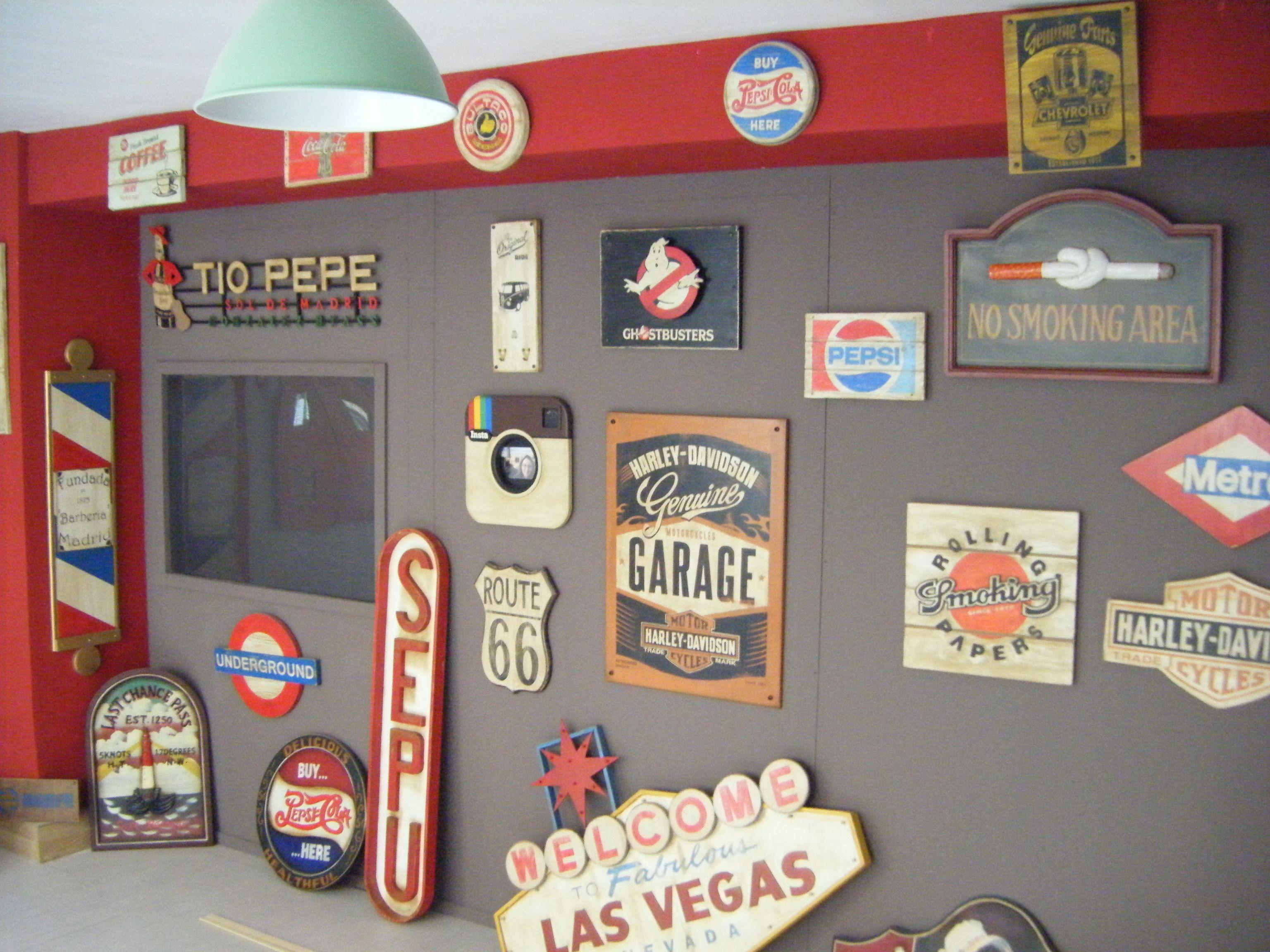 Taller de decoraci n retro vintage reproducciones de - Comprar decoracion vintage ...