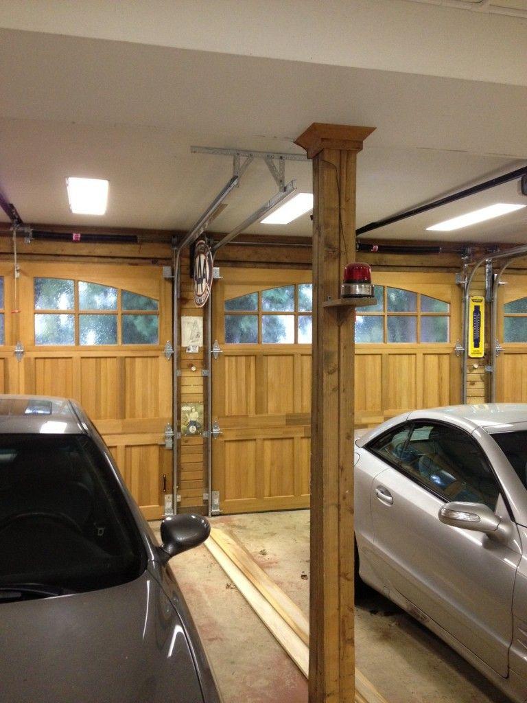 How To Fix A Stuck Garage Door Garage Door Repair Pinterest