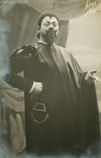 Unknown actor playing mephisto 1900's