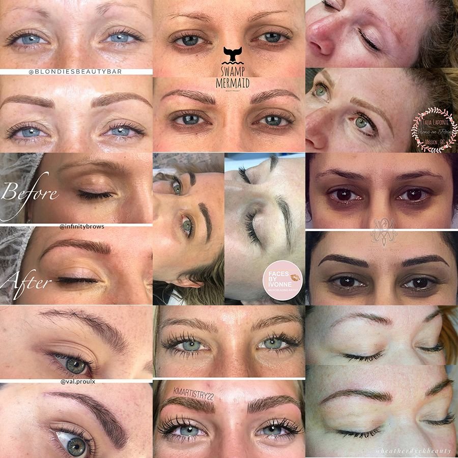 We were talking to our Microblading students today during
