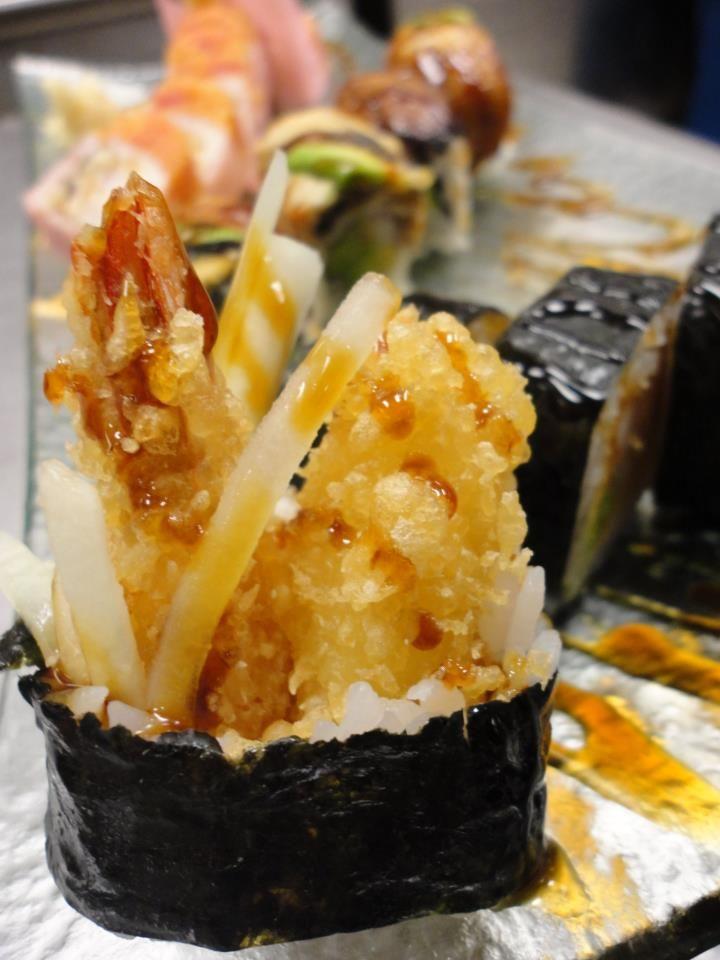 how to make tempura sushi roll