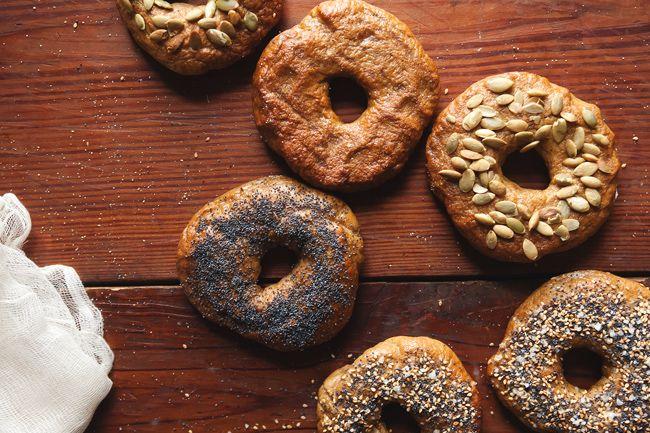 Pumpkin Bagels | The Tart Tart