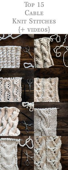 Top 15 Cable Knit Stitches Ebook Videos