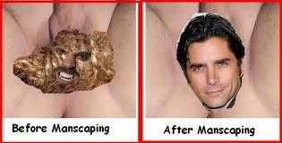 manscaping groin photos