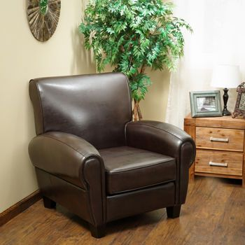 Edmond Club Chair Costco Two For The Living Room Brown
