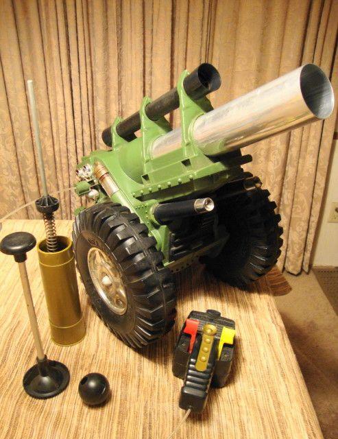 Toy Cannon That Shoots : cannon, shoots, Vintage, Favorites, 1950s, 1960s, 1970s, 1960,, Classic, Toys,