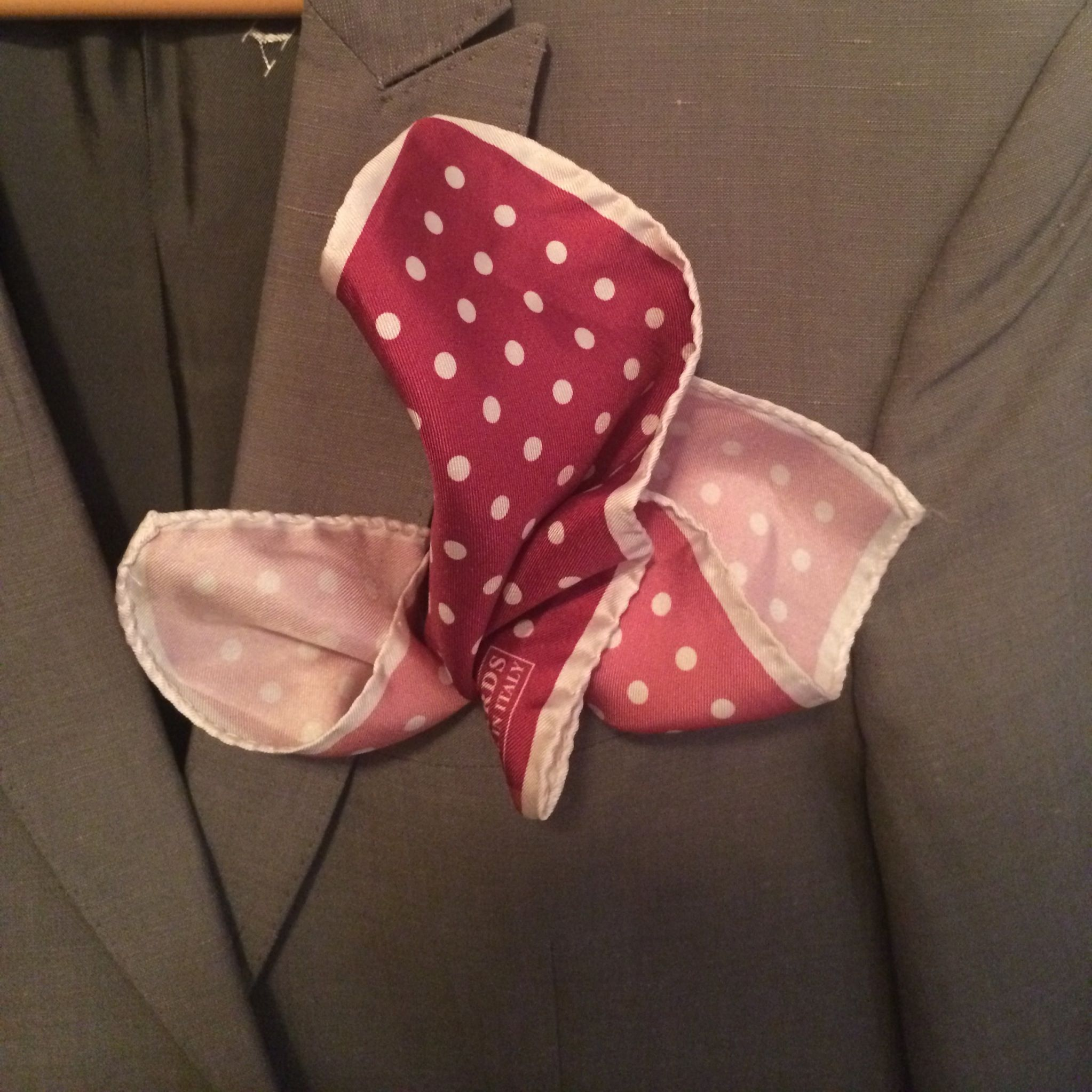 4 in 1 Handkerchief/Pocket Square Nordstrom Pick for my client...