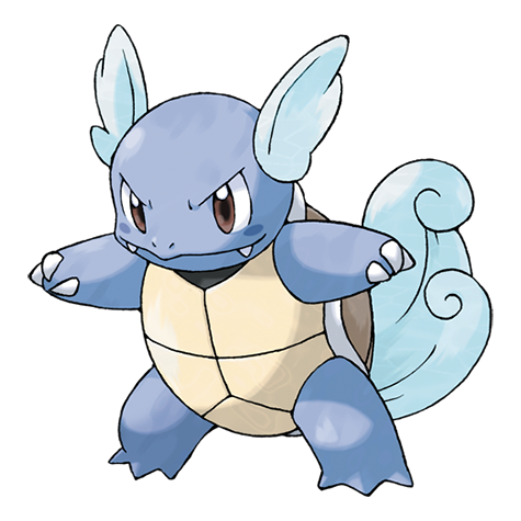 Wartortle #008 Type: Water Evolutions: Squirtle #007, Blastoise #009