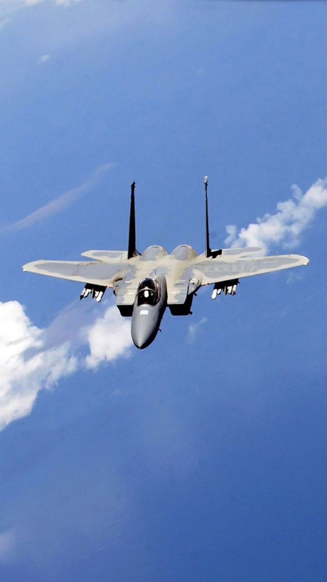 f-15 eagle fighter in blue sky. | airplanes | pinterest | eagle