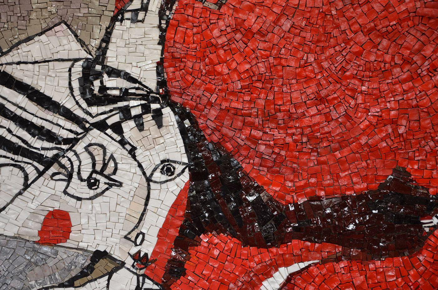 Petris luciano mosaici creazioni in mosaico mosaici for Mosaici e marmi per pavimenti e rivestimenti