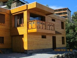 Chalet , Pra Loup (04) 4 chambres 9 couchages