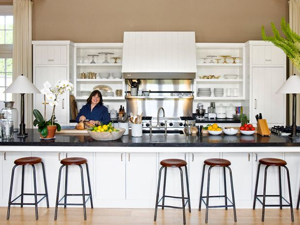 ina garten, leave often-used appliances out, has soapstone