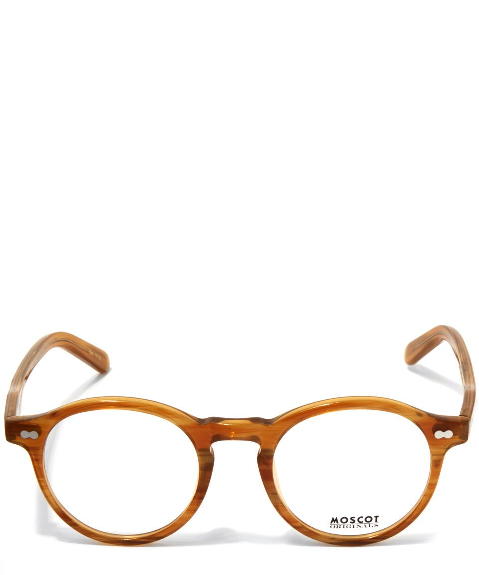 14b64f8b31e Moscot Light Brown Miltzen Blonde Glasses